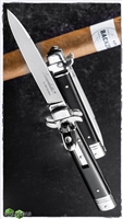 "AKC Leverletto 9"" by Bill DeShivs Ebony Wood"