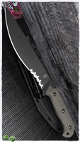 Bastinelli Creations Black Large Silence Serrated