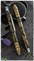 Blackside Customs/Strider Knives Camo Brass Pen