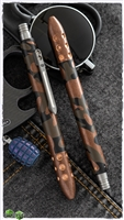 Blackside Customs/Strider Knives Camo Copper Pen