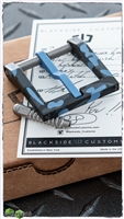 Blackside Customs Modular Belt Buckles - Blue Polar Camo