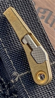 Blackside Customs Handcuff Key Belt Buckle Module - Brass