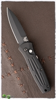 Benchmade 3551BK Mini Stimulus Black Blade w/Black Handle