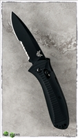 Benchmade Presidio AXIS Lock Auto 5500 Black Serrated Blade