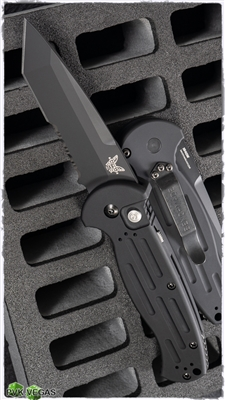 Benchmade AFO2 Armed Forces Only 9052SBK Black Serrated Blade