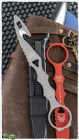 Benchmade SOCP Rescue Tool + Trainer w/ Black Sheath, Gray 440C