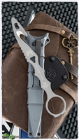 Benchmade SOCP Rescue Tool w/ Gray Sheath, Gray 440C