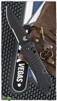 Benchmade 917BK-1901 Tactical Triage Axis Lock, Serrated CPM-S30V, Black G-10