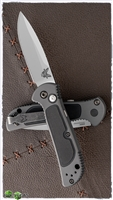 Benchmade 9750 Mini Coalition Gray w/Black Inlays