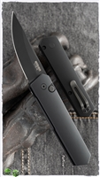 Boker Burnley Compact Auto Kwaiken Tactical Black Blade Black Handle