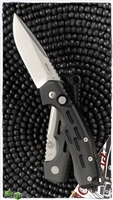 Boker Plus Thunder Storm Manasherov Black Handle Stonewash Blade