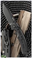 Boker Plus Thunder Storm Manasherov Black Handle Black Blade