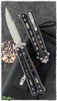 "Boker Plus Balisong G-10 Small Butterfly Knife (3.2"" Satin) 06EX226"