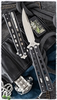 "Boker Plus Balisong G-10 Large Butterfly Knife (4"" Satin) 06EX228"