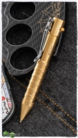 Boker Plus K.I.D. Cal .50 Tactical Defense Pen Brass
