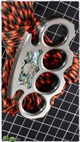 BURN Titanium Knuckles MokuTi Inlay
