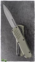 Guardian Tactical RECON-035 D/E OTF Stonewash Blade & Green Handle