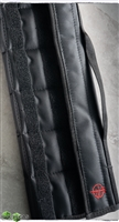 12 Knife Fleece Lined Storage Case, Black Nylon