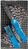 Microtech Combat Troodon D/E 142-1BL Black Blade Blue Handle
