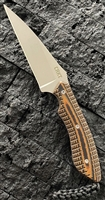 "CRKT S.P.E.W., Small Pocket Everyday Wharncliffe, 3 "" Bead Blasted Blade"