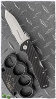 "Cold Steel Storm Cloud Tri-Ad Lock, G-10/CF Scales, 3.5"" Satin CPM-20CV"