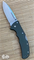 Cold Steel Code-4 Spear Point Lockback, Gray with a Satin CPM-S35VN