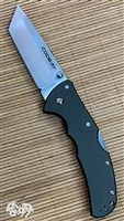 Cold Steel Code-4 Tanto Point Lockback, Gray with a Satin CPM-S35VN