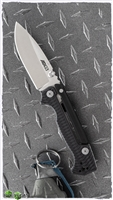 "Cold Steel Demko AD-15 Lite Scorpion Lock Knife, Black G10, 3.5"" S35VN Steel Blade"