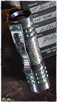 Borka Blades Collaboration Ti-2 Design/CWF Pele Flashlight