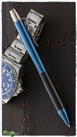 Darrel Ralph Designs (DDR) Blue Anodized Titanium and Carbon Fiber Go Pen