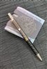 Darrel Ralph Designs (DDR) Flame Anodized Titanium and Black Carbon Fiber Go Pen