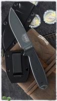 ESEE Knives ESEE-4PDE-001 Fixed Blade, Black 3D G-