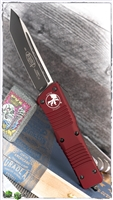 Microtech Combat Troodon T/E 144-1MR Black Blade Merlot Handle