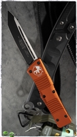 Microtech Combat Troodon T/E 144-1OR Black Blade Orange Handle