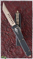 Microtech Ultratech Hell Hound LTD Production 119-13 Bronze Hardware & Blade Sean Logo