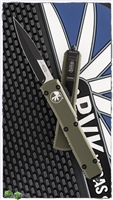 Microtech Ultratech Bayonet 120-1OD Black Blade OD Green Handle