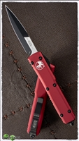 Microtech Ultratech Bayonet 120-1RD Black Blade Red Handle