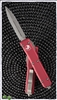 Microtech Ultratech 122-10RD Stonewash Blade Red Handle