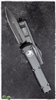 Microtech Ultratech D/E 122-1DLCT Black DLC Blade Tactical