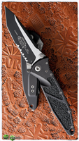 Microtech SOCOM Elite T/E-M 161-2 Black Serrated Two-Tone Blade
