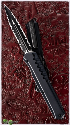 Microtech Cypher MK7 Double Edged Double Serrated Tactical