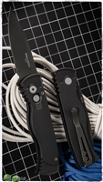 Protech Tactical Response TR-2.3 Black Blade - Black Handle
