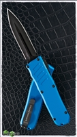 Guardian Tactical RECON-035 D/E OTF Black Blade & Blue Handle