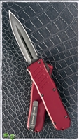 Guardian Tactical RECON-035 D/E OTF Black Blade & Red Handle