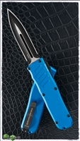 Guardian Tactical RECON-035 D/E OTF Black Two Tone Blue and Black Hardware