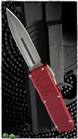 Guardian Tactical RECON-035 D/E OTF Stonewash Blade & Red Handle