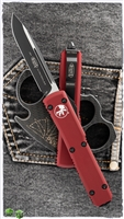 Microtech Ultratech S/E 121-1RD Black Blade Red Handle