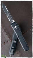 Microtech Ultratech S/E 121-2T Black Serrated Tactical
