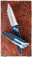 Microtech SOCOM Elite Auto T/E 161A-4BL Satin Blade Blue Handle