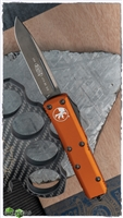 Microtech UTX-85 S/E 231-1DLCTOR DLC Black Blade Orange Handle DLC HW